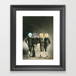 Modern Fashion Framed Art Print