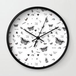 Tattoo à la Harry Wall Clock