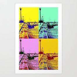 Oistins  Art Print