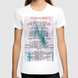The Four Agreements - Colorful T-shirt