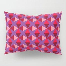 Geo 60s Purple Haze Pillow Sham