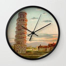 Pisa Wall Clock