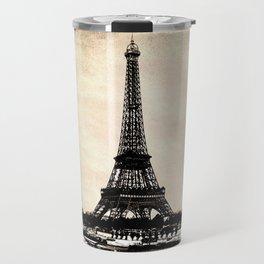 VINTAGE EIFFEL TOWER IN SEPIA Travel Mug