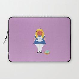 Alice in worriedland Laptop Sleeve