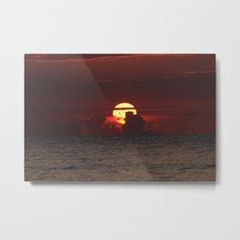 sunrise fort lauderdale Metal Print