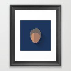 Solo Flat Design Episode VII Framed Art Print