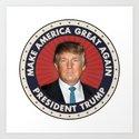 President Trump by politics