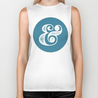 ampersand Biker Tanks featuring Ampersand by AndyGD
