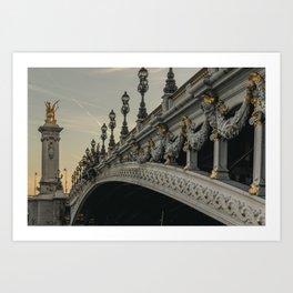 Paris - Pont Alexander III Art Print