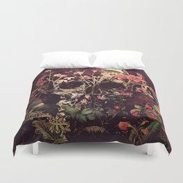 Bloom Skull Duvet Cover