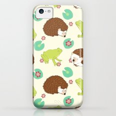 Hedgehog and Frog iPhone 5c Slim Case