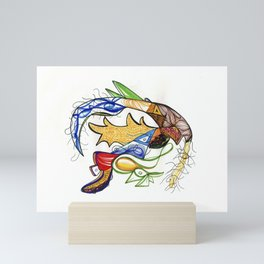saddle Mini Art Print