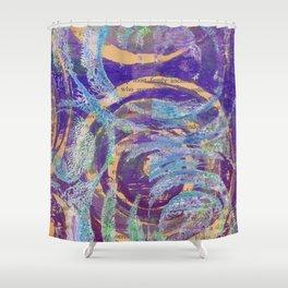 Lustrous Mauve Shower Curtain