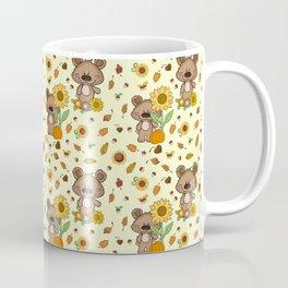 SUNFLOWER BEAR Coffee Mug