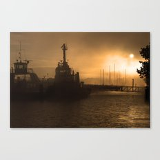 Waterford Harbour Canvas Print