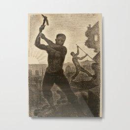 The Demolishers Metal Print