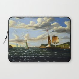 Thomas Chambers Staten Island and the Narrows Laptop Sleeve