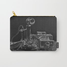 Vintage Polaroid Camera Still Life Carry-All Pouch