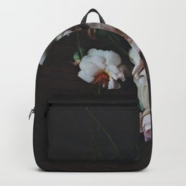 English Roses Still Life - Dark Number Two Backpack