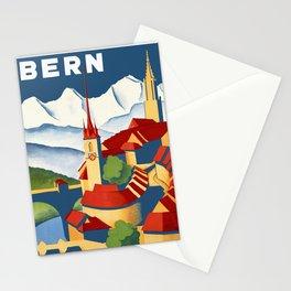 Vintage Bern Switzerland Travel Stationery Cards