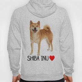 Shiba Inu Love Hoody
