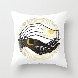 La Lune Spell Throw Pillow