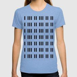 Piano Key Stripes T-shirt