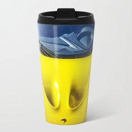 Acid Yellow McLaren P1 Travel Mug