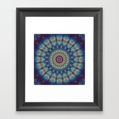 Gazing At The Mystery Framed Art Print