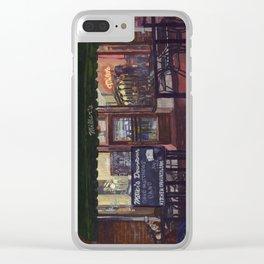 No cover, C-ville, VA Clear iPhone Case