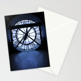 Clock is ticking - Paris Stationery Cards