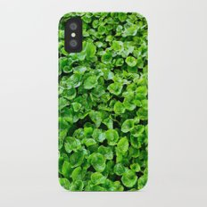 Greenery  iPhone X Slim Case