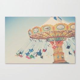 carnival swing I ... Canvas Print