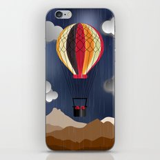 Balloon Aeronautics Rain iPhone & iPod Skin