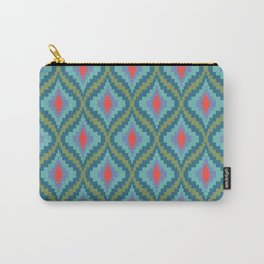 Bright Flame Bargello Carry-All Pouch