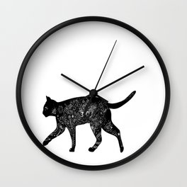 Cat Anatomy Wall Clock