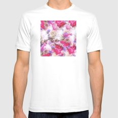 The flowers from my garden Mens Fitted Tee White MEDIUM