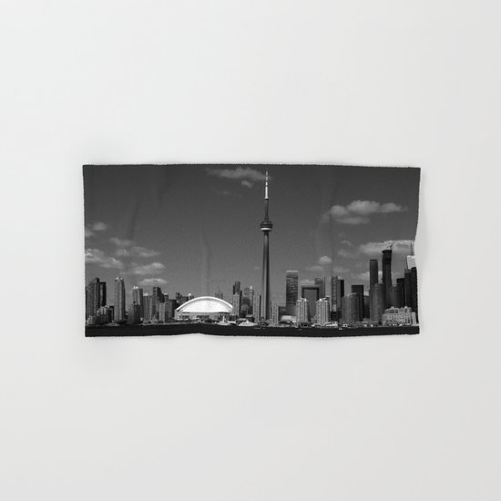 Toronto Skyline Hand & Bath Towel