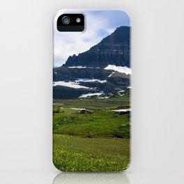 Logans Pass, Glacier National Park iPhone Case