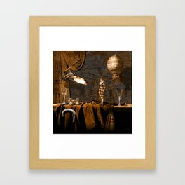 After theater (Gulliver in the giant country) Framed Art Print