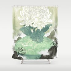 Celadon Shower Curtain