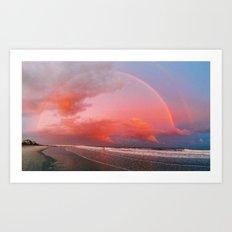 Folly Beach II Art Print