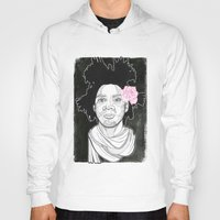 basquiat Hoodies featuring Basquiat by DonCarlos