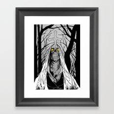 Forest Ghost Framed Art Print