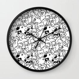 Oh Vegans Wall Clock