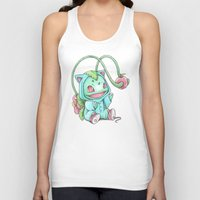 projectrocket Tank Tops featuring Until the Apple is Ripe by Randy C