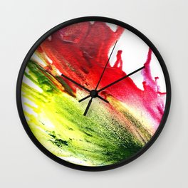Wax#2 Wall Clock
