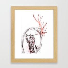 Nature is F*cking Metal 02 Framed Art Print