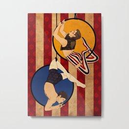 Circus AU DeanCas! Metal Print