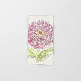 Zinnia Burst Hand & Bath Towel